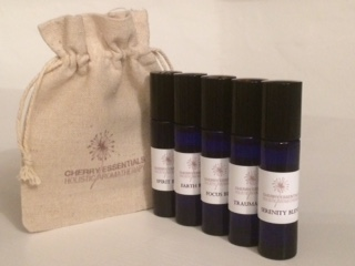 essential oil roll on gift set