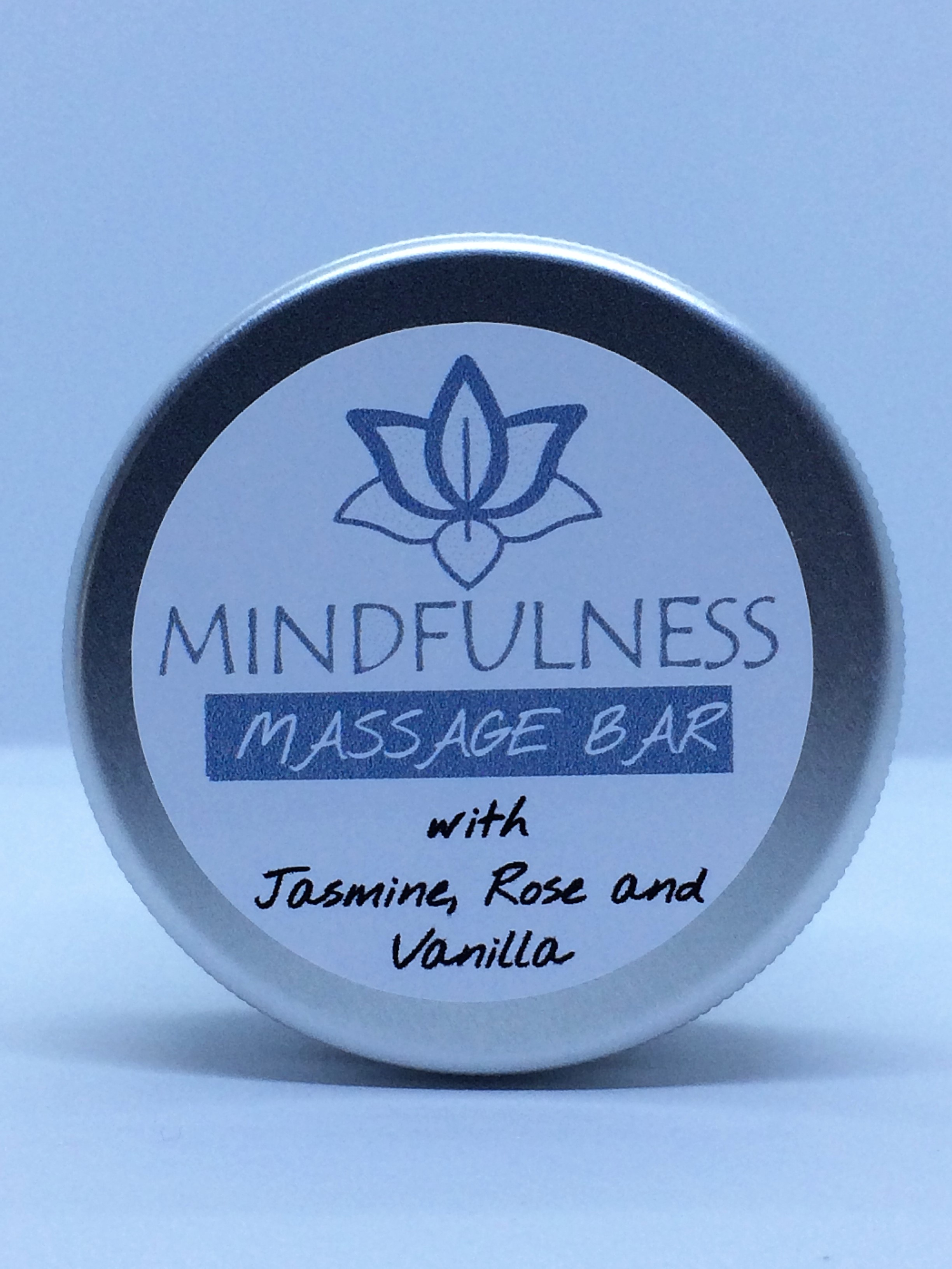 Mindfulness Massage Bar with Jasmine, Rose and Vanilla
