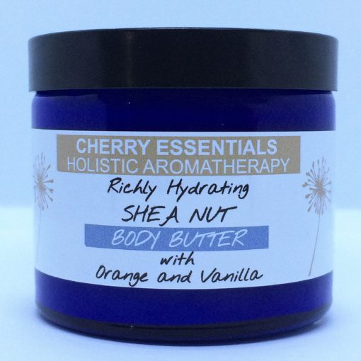 Richly Hydrating Shea Nut Body Butter with Orange and Vanilla by Cherry Essentials