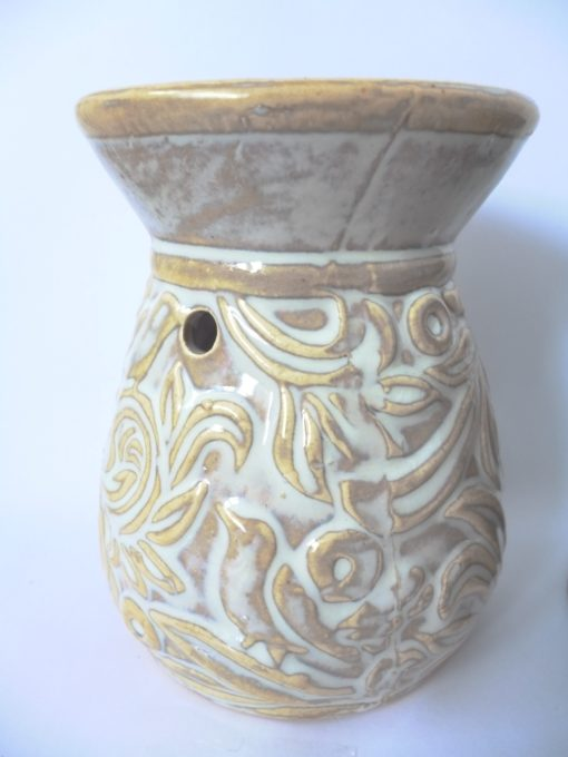 Venetian Scroll Design Oil Burner