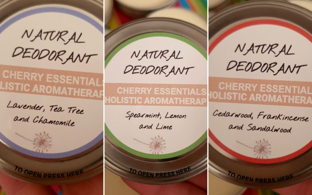 NEW! Natural Deodorants by Cherry Essentials